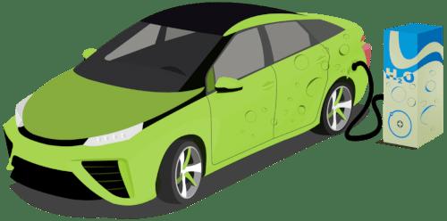 Wasserstoff Auto tanken