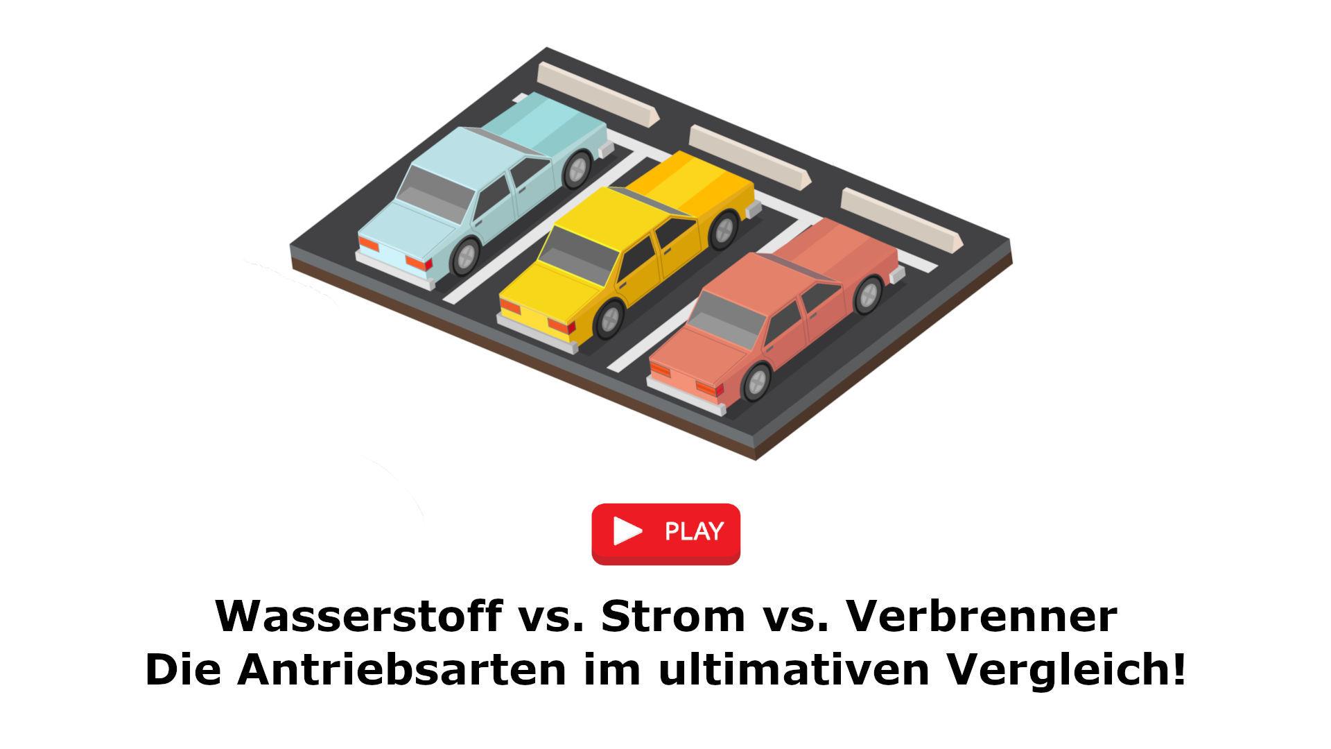 Videovergleich - Antriebsarten von Fahrzeugen