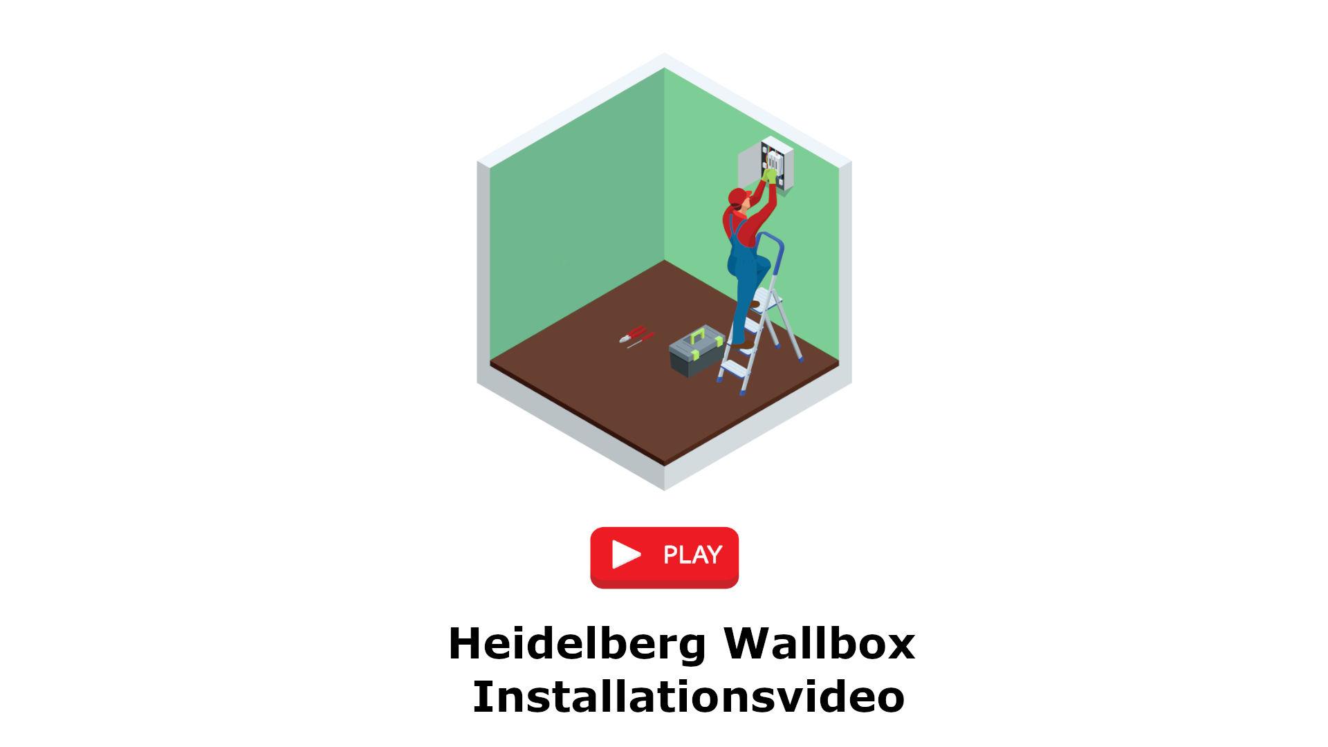 Heidelberg Wallbox Installationsvideoo