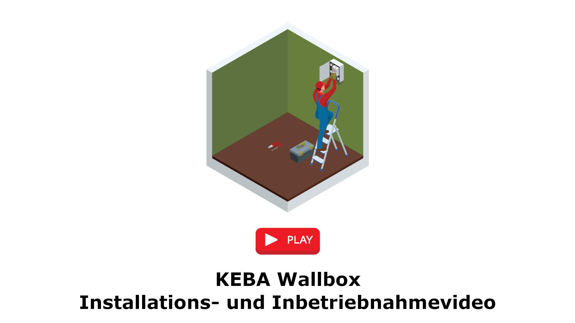 KEBA Wallbox Installations- und Inbetriebnahmevideo